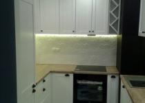 Kuchnia z podświetleniem ledowym